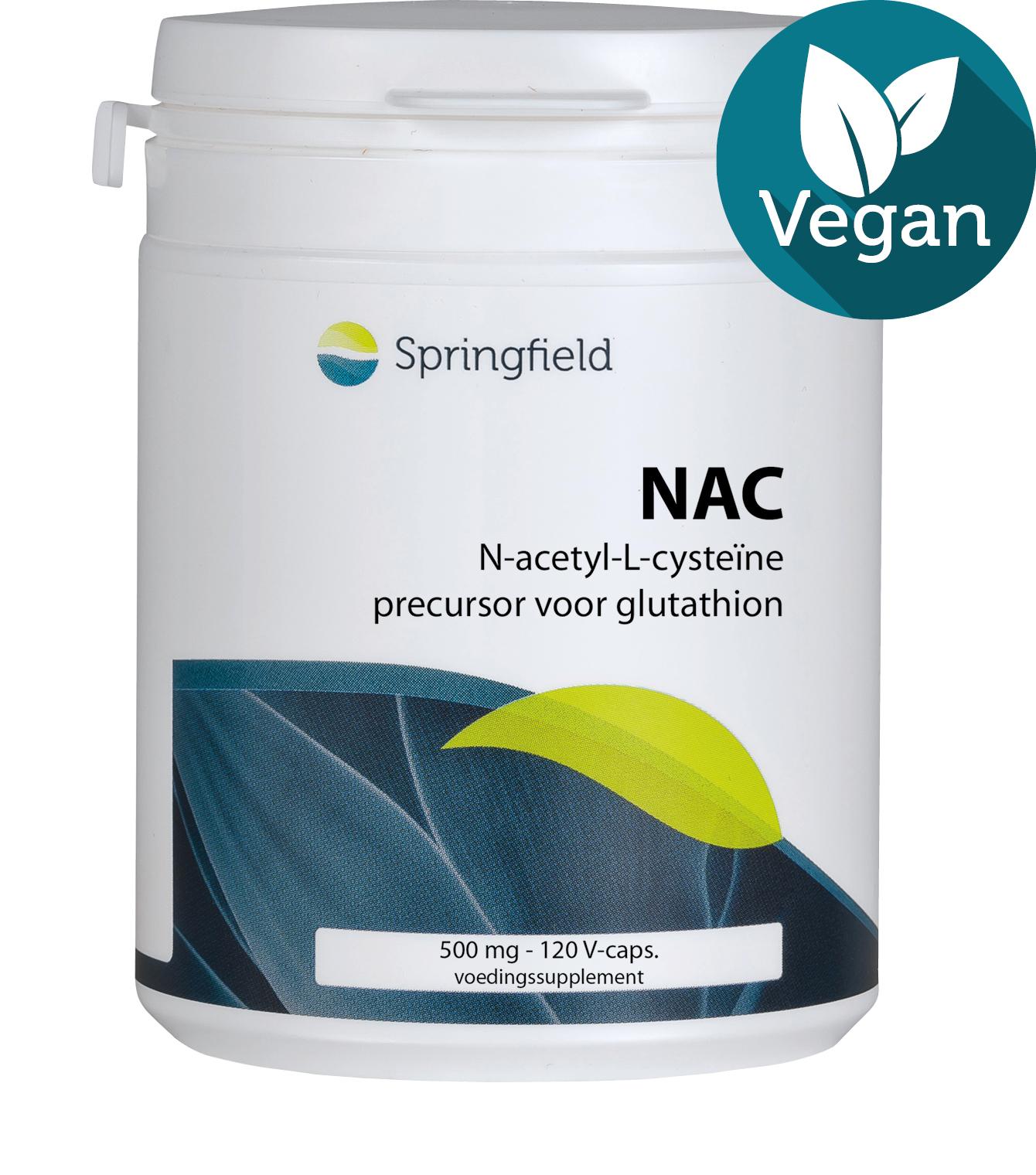 NAC N-Acetyl-L-Cysteine vegan