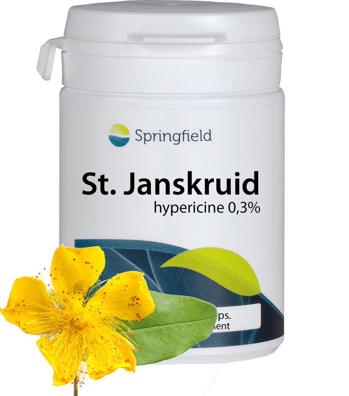 St. Janskruid 500 mg 0,3% Hypericine