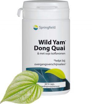 Wild Yam - Dong Quai en Soja met Isoflavonen - bij overgangsverschijnselen