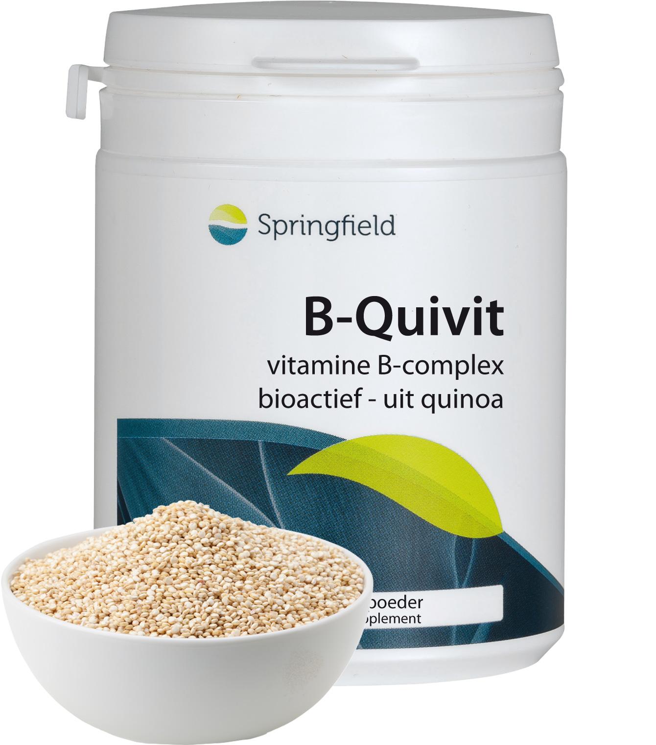 Natuurlijkvitamine B-complex uit quinoakiemen - 30 tabletten