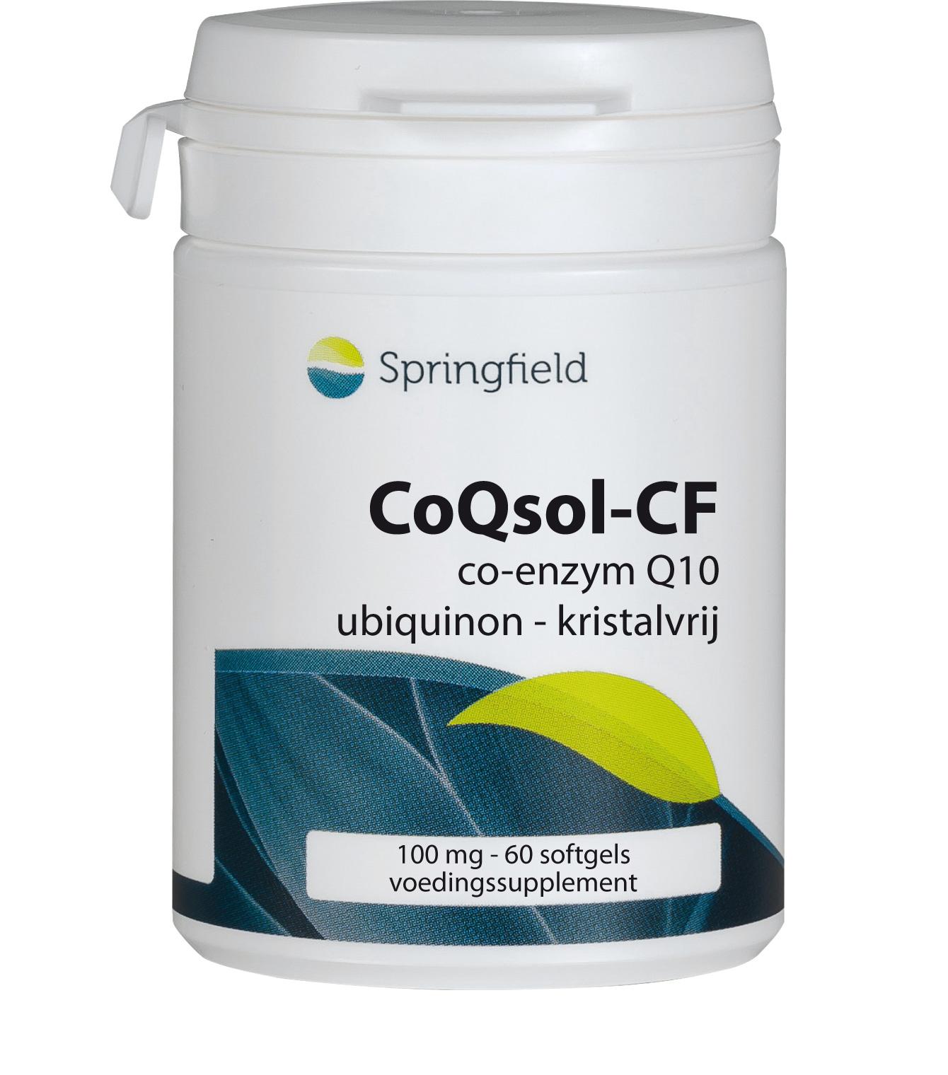 CoQsol-CF co-enzym Q10 (ubiquinon) met vitamine E