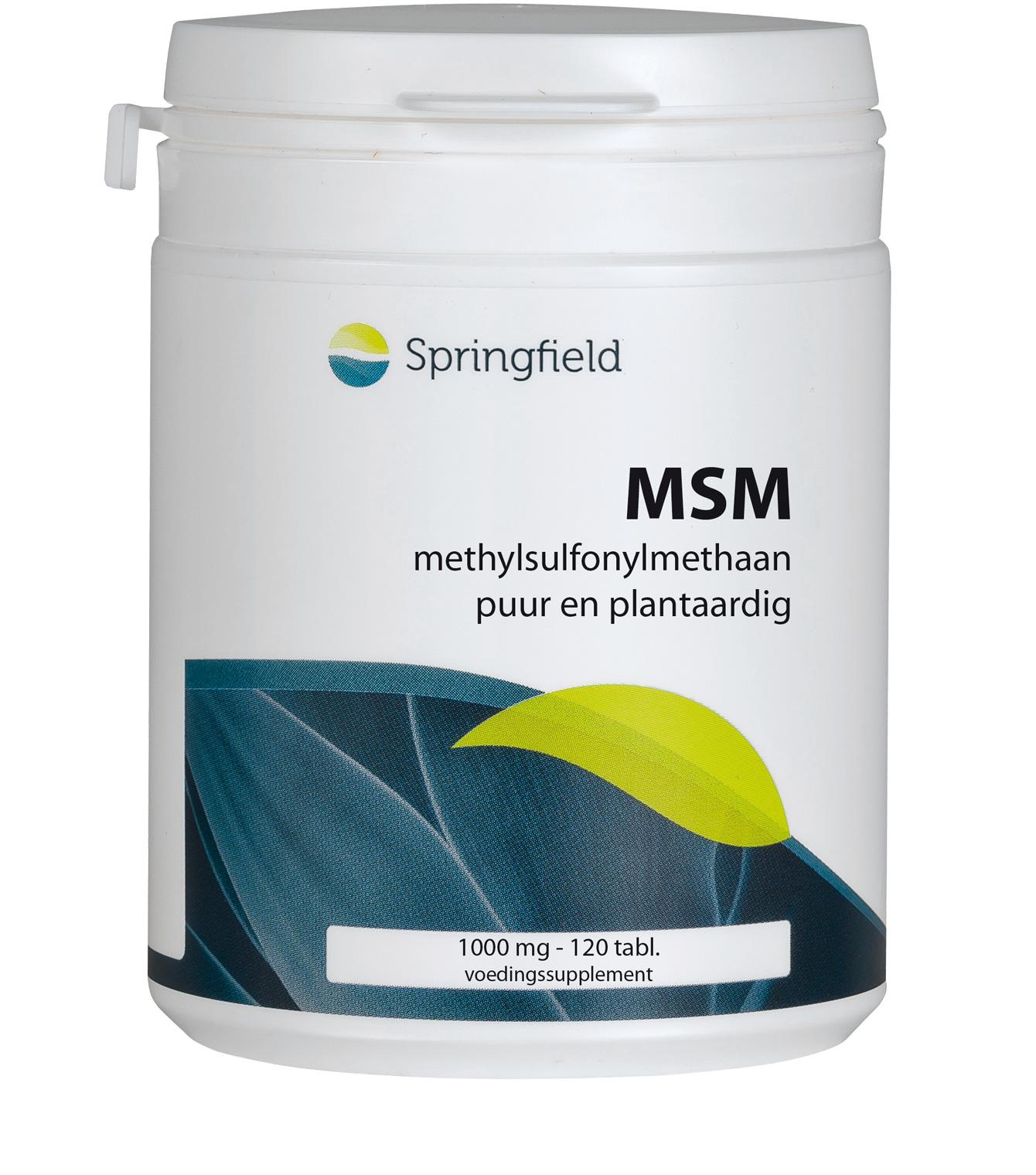 Natuurlijk gewonnen methylsulfonylmethaan - MSM