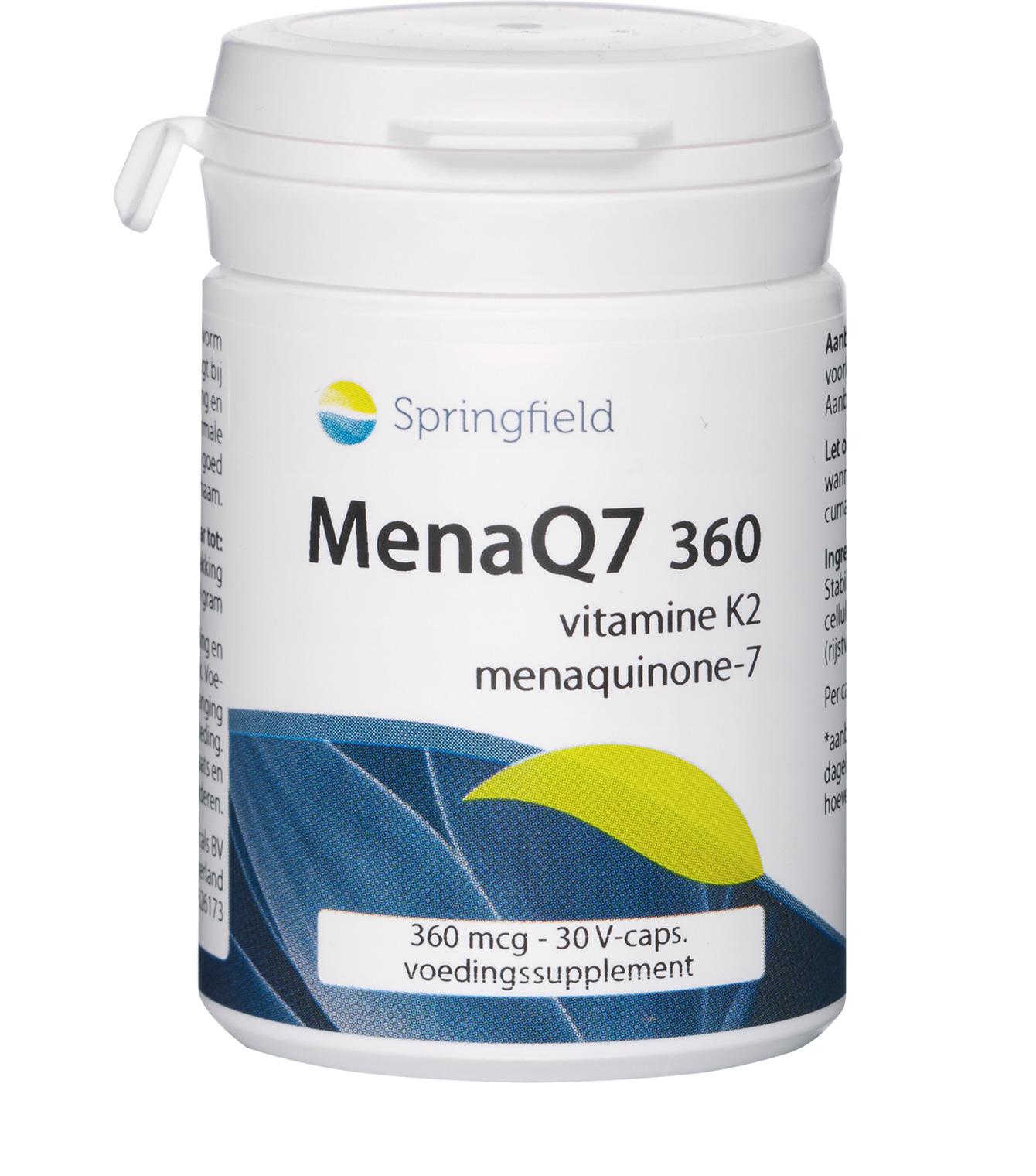 MenaQ7 360 Vitamine K2 menaquinone-7