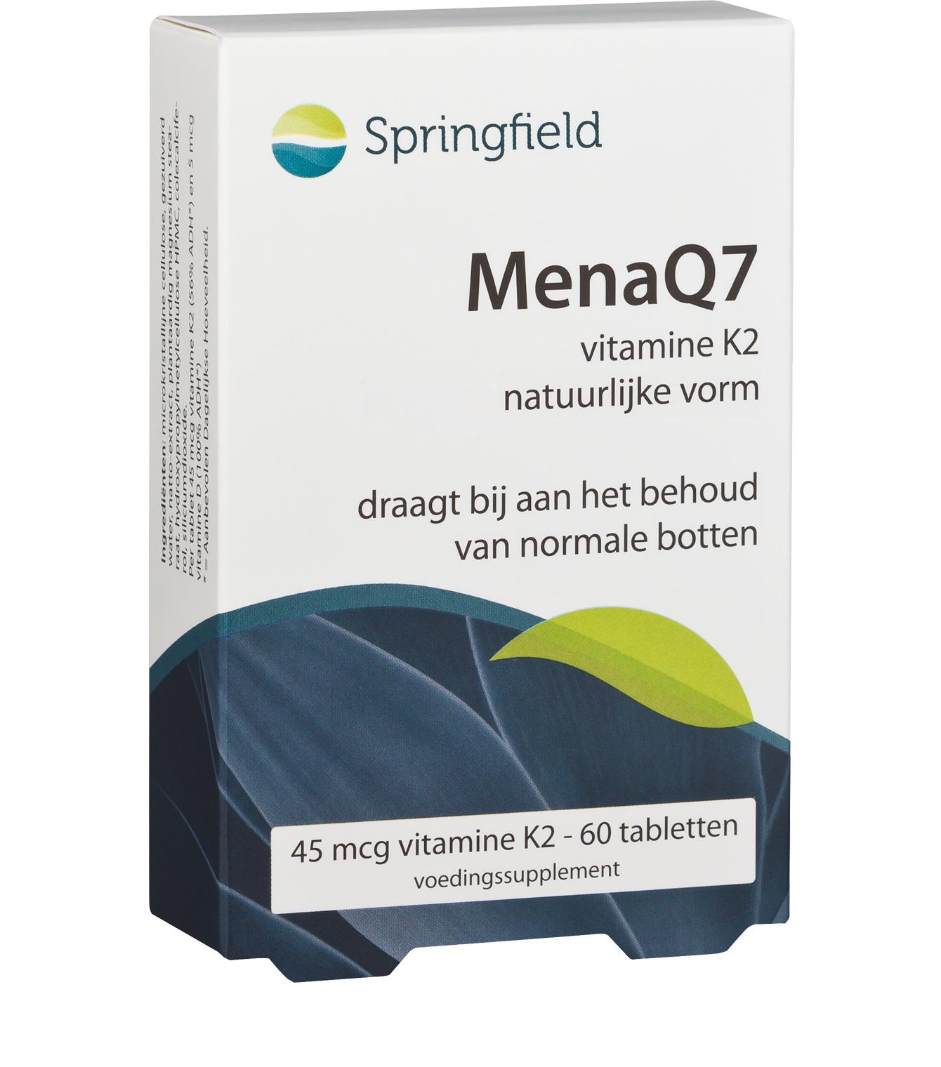 MenaQ7 vitamine K2 (menaquinone-7)