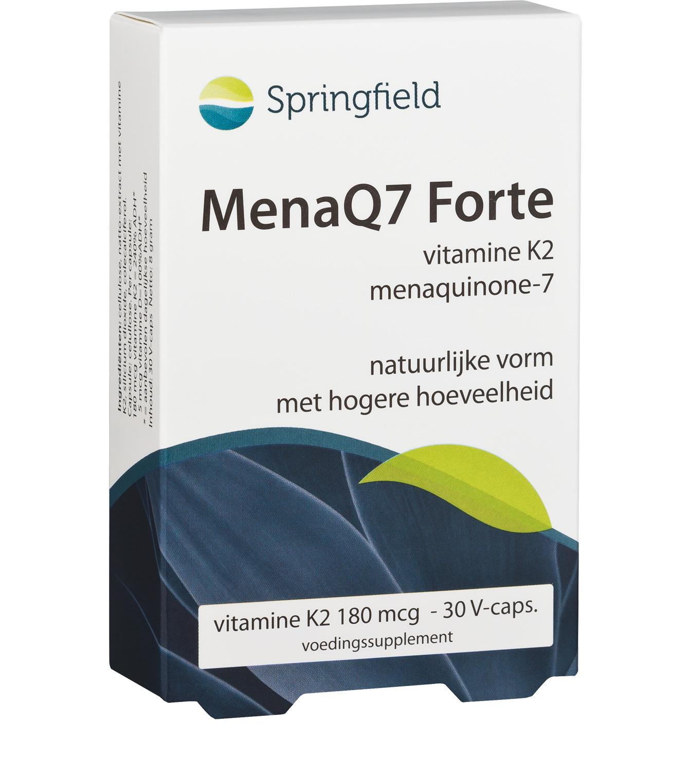 MenaQ7 Forte vitamine K2 menaquinone-7