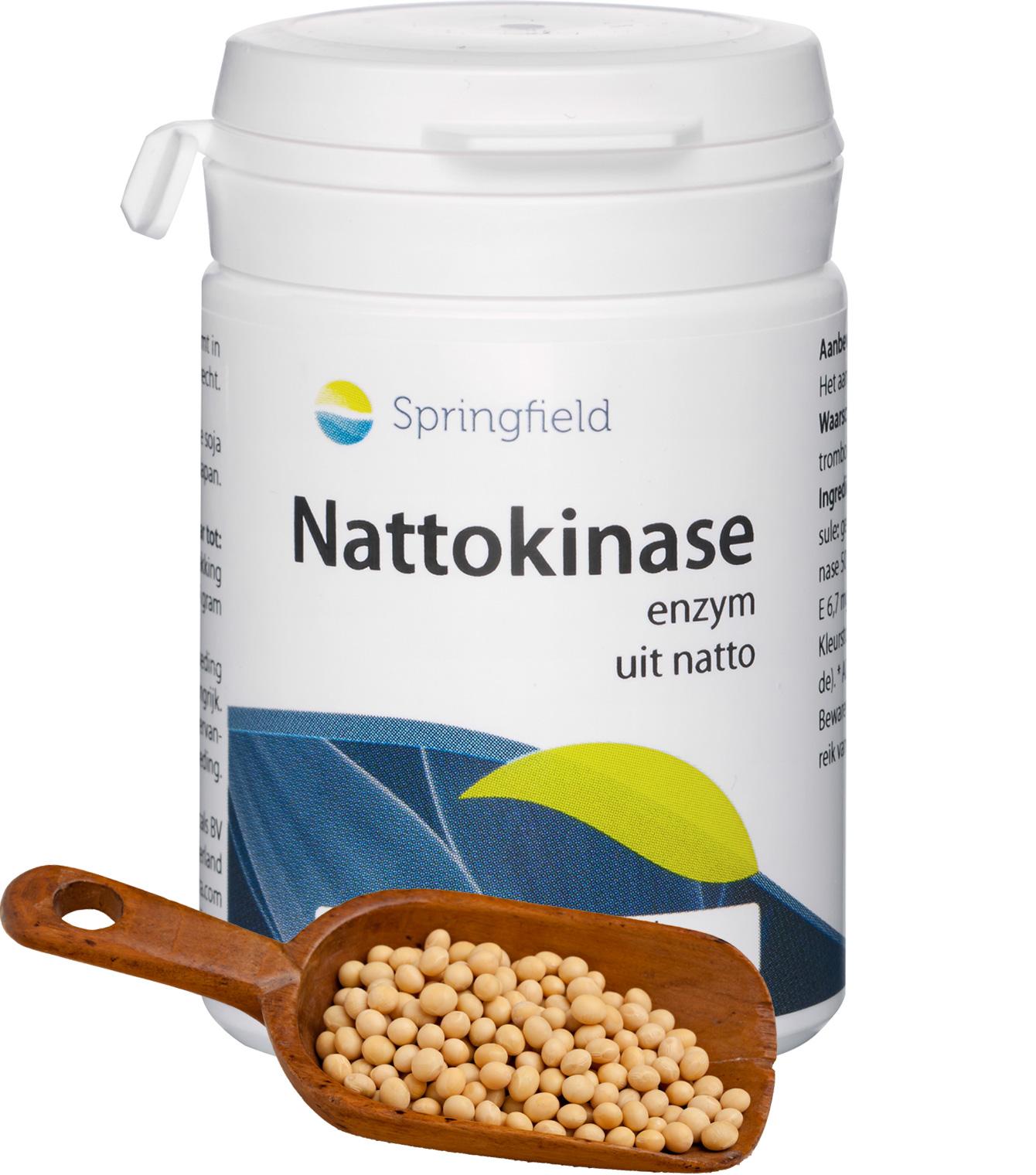 Nattokinase - Enzym - uit natto (gefermenteerde soja)