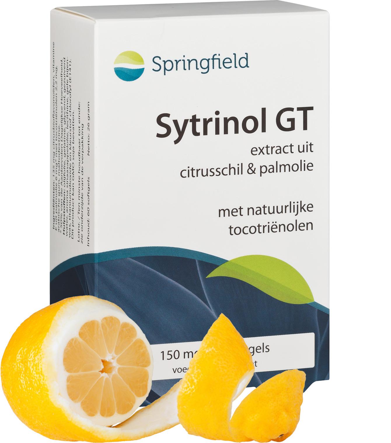 Sytrinol GT bioflavonoïden en tocotriënolen