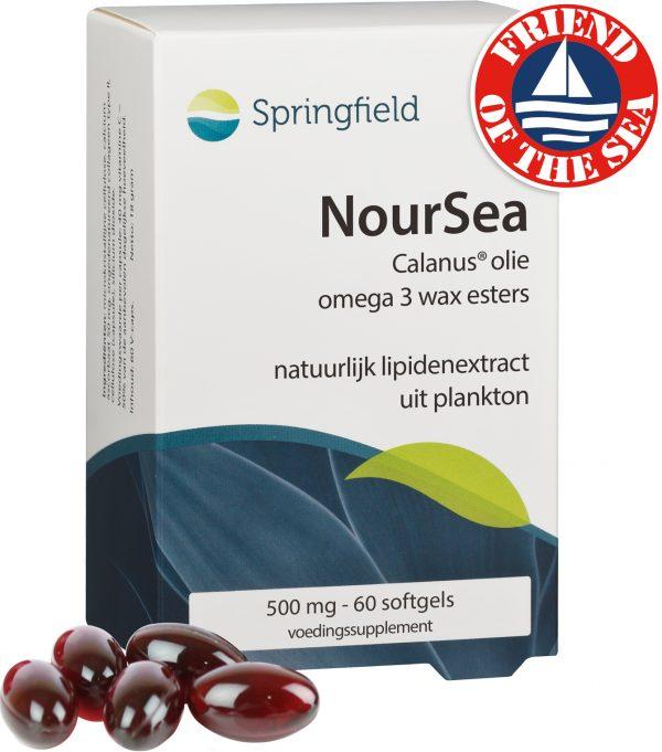 Noursea Calanusolie omega 3-vetzuren in de vorm van wax esters met bredere werking