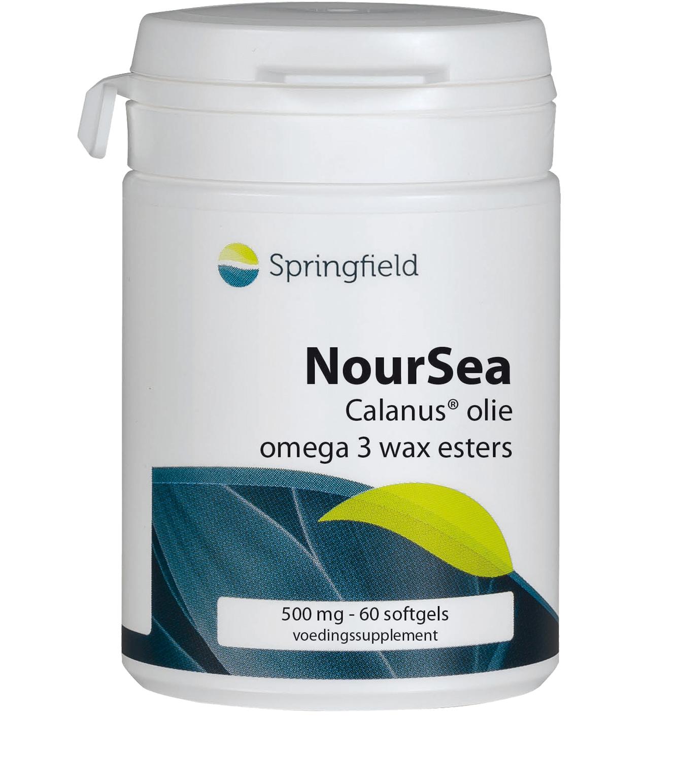 Noursea - Calanus olie - omega 3 wax esters