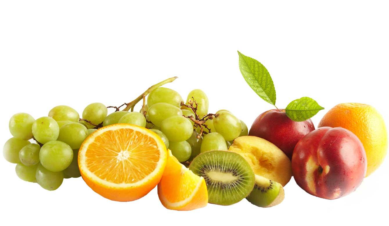Rijk aan Vitamine C: diverse soorten fruit