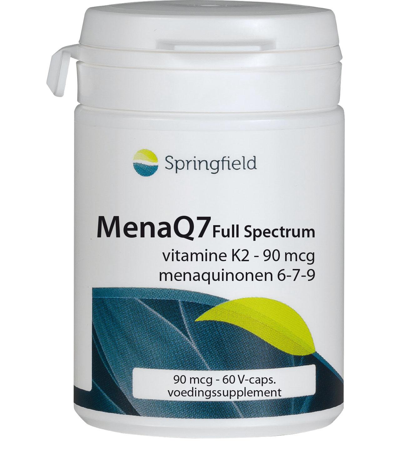 MenaQ7 Full-Spectrum 90mcg-vitamine K2 menaquinonen 6-9