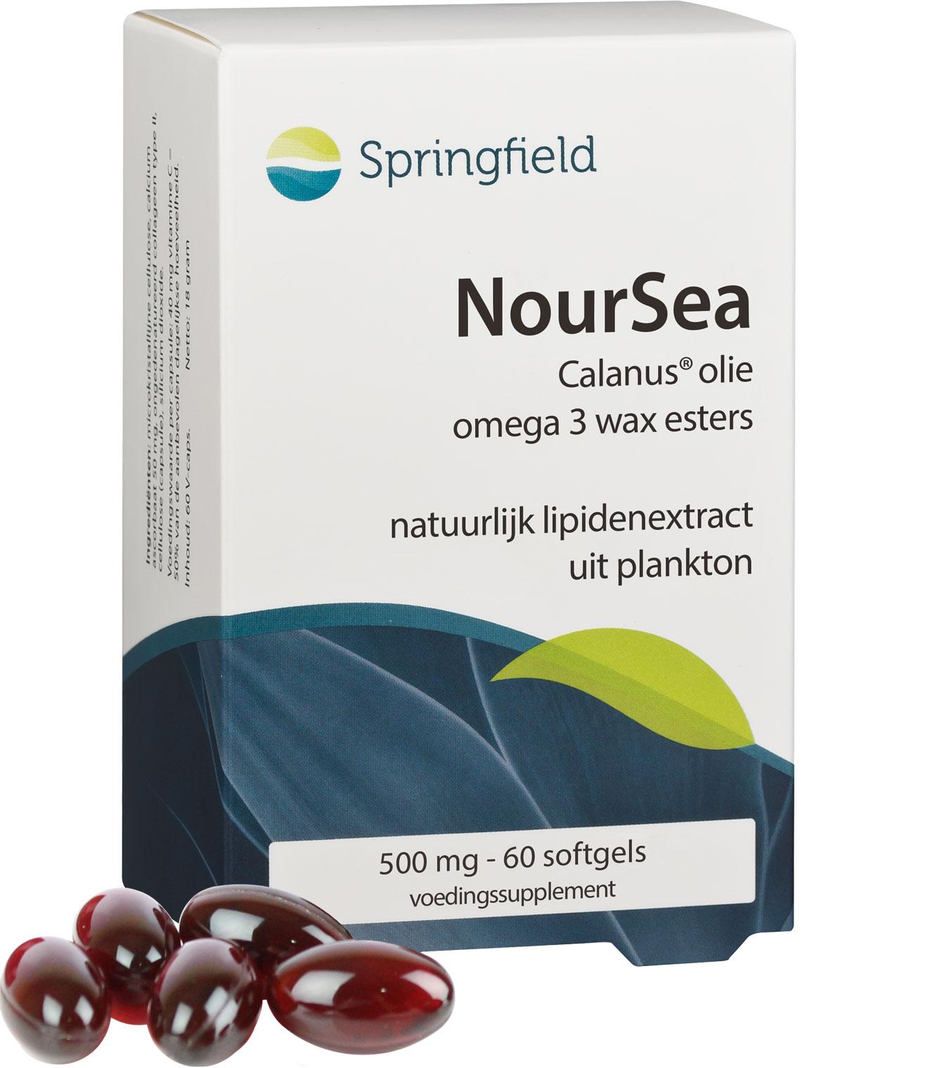 Noursea Calanus olie - omega 3 wax esters