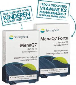 Packshots MenaQ7 45 en MenaQ7 Forte met stempels