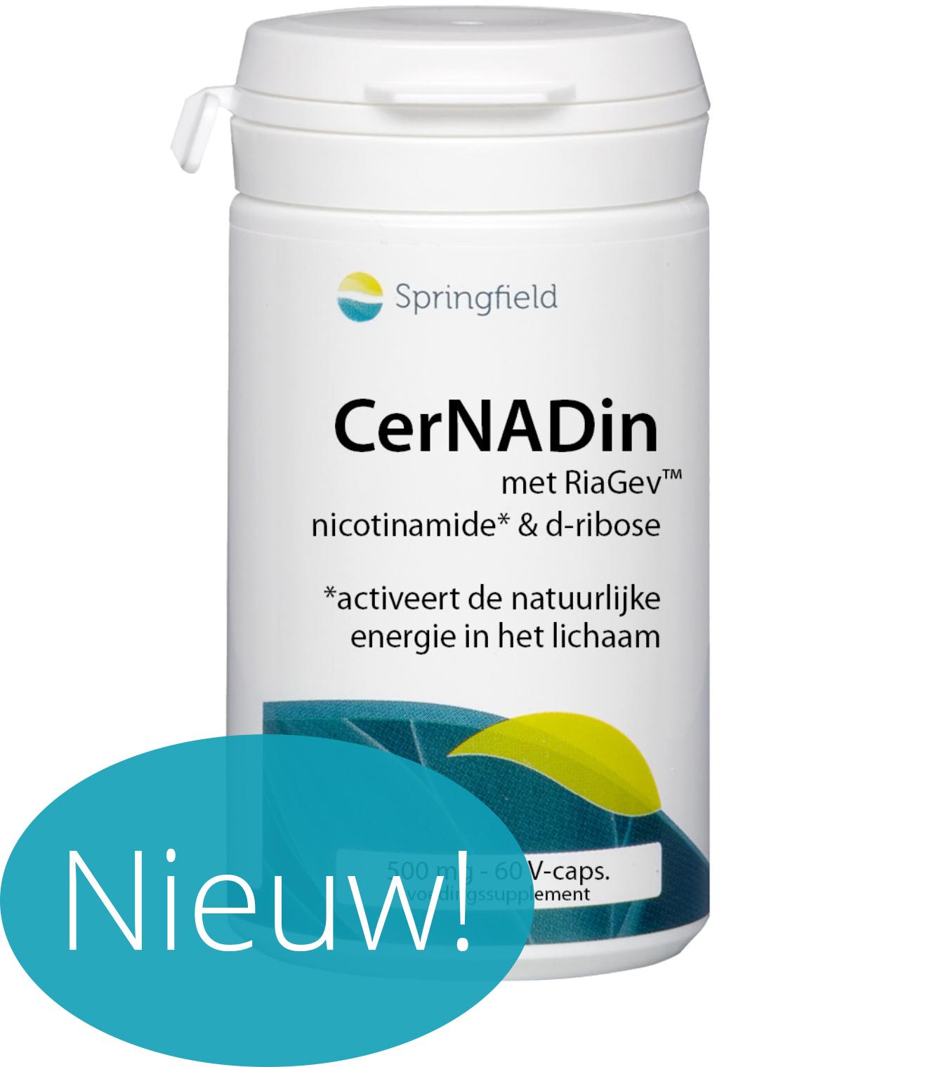 CerNADin met RiaGev - D-Ribose en niacine