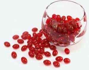 NourSea Calanusolie - rode softgel capsules in glas