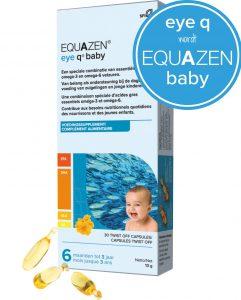 Equazen Baby (eye q baby) - Zuivere DHA-rijke visolie - goed voor de hersenen - Eye q wordt Equazen baby