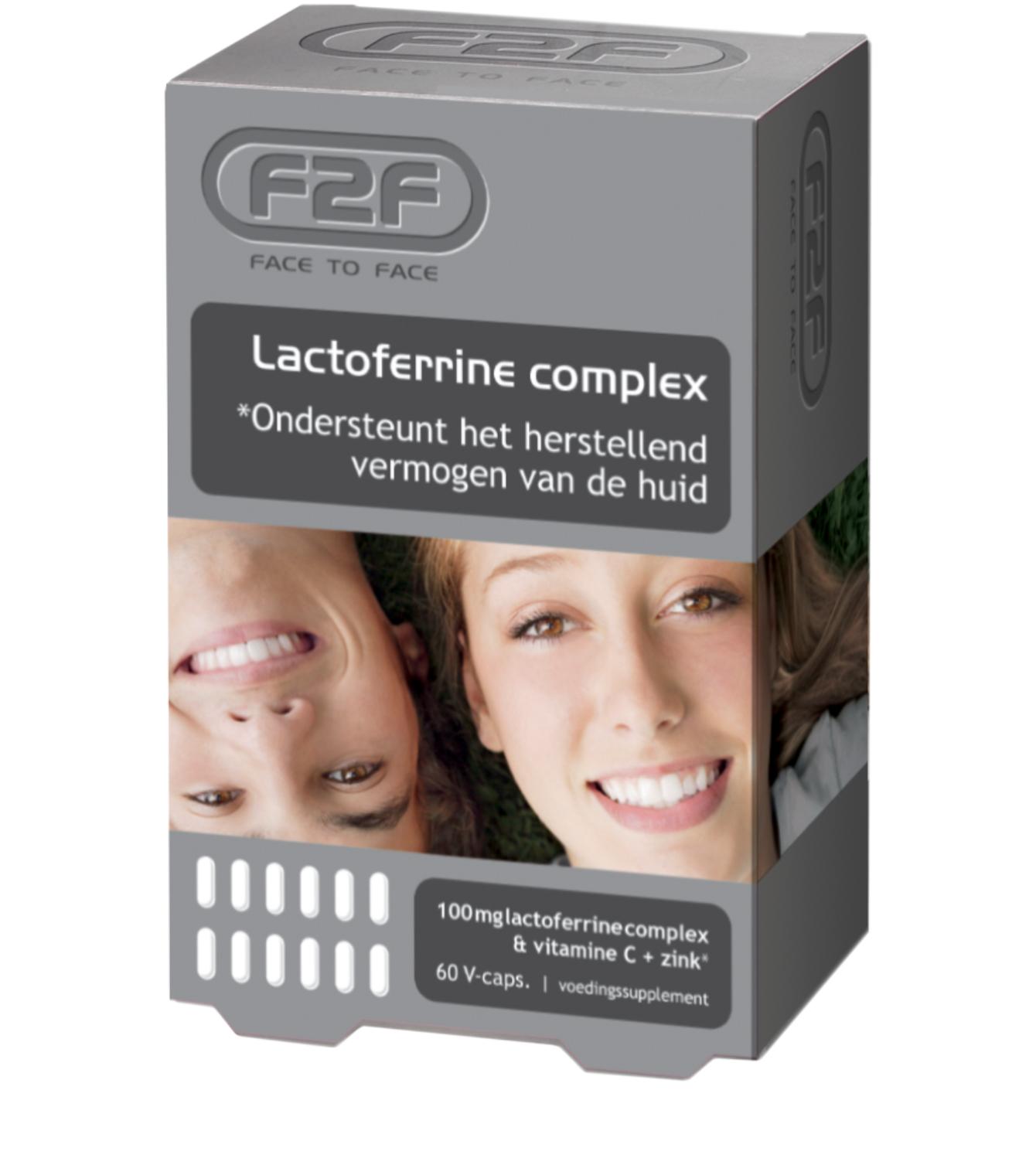 Face2Face f2f - Lactoferrine complex - 60 V-capsules