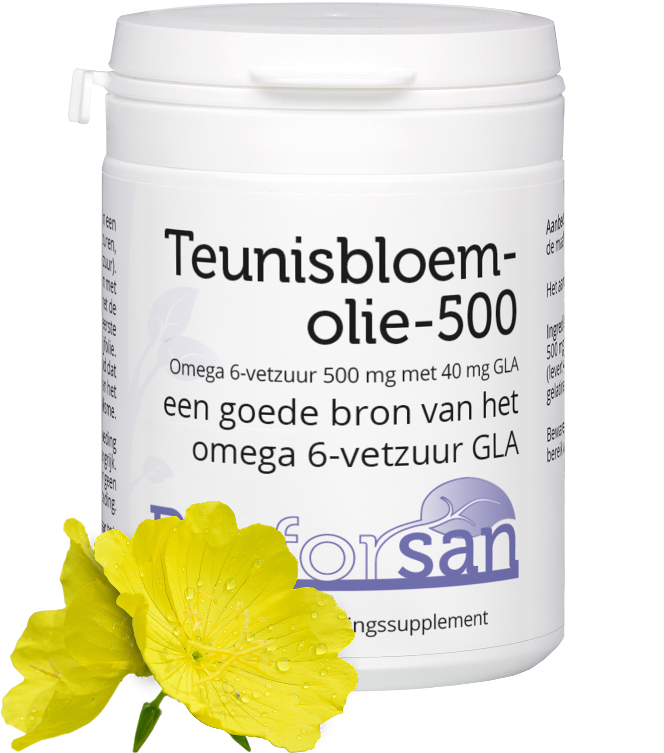 Proforsan - Teunisbloemolie-500 - 60 softgels