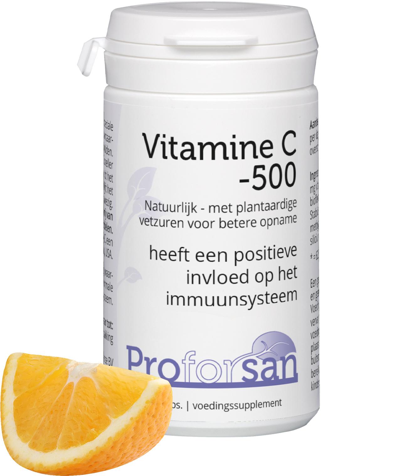 Proforsan Vitamine C-500 - 60 V-capsules