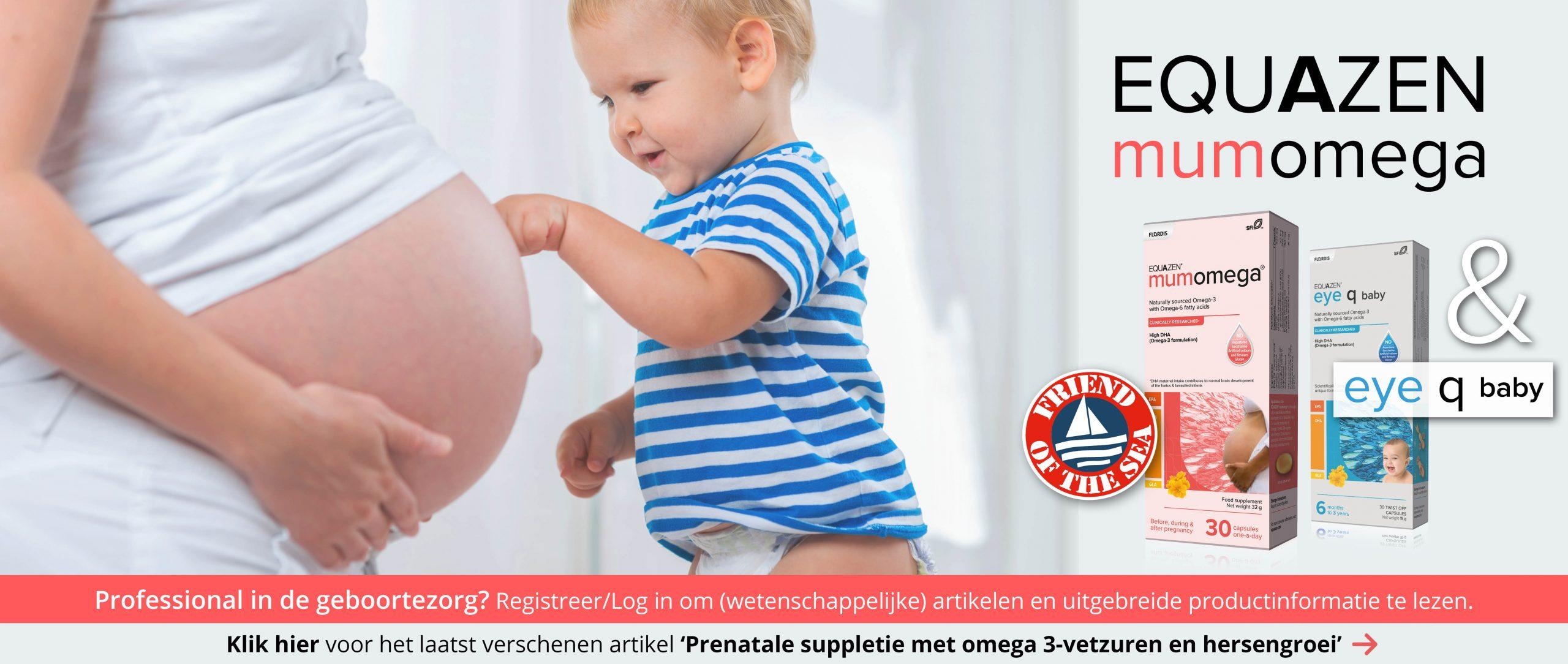 Prenatale suppletie met omega 3-vetzuren en hersengroei